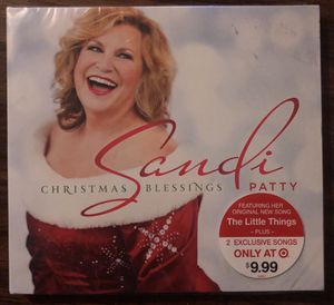 Sandi Patty Christmas Blessings CD. New for Sale in Riverside, CA