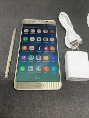 Samsung galaxy note 5 Gold UNLOCKED for Sale in Round Rock, TX