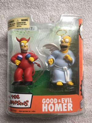 McFarlane Simpsons Good & Evil Homer for Sale in Redford Charter Township, MI