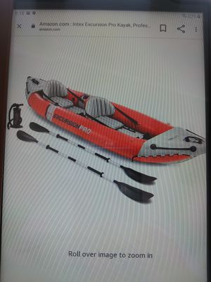 Inflatable 2 person kayak for Sale in Hammondsport, NY