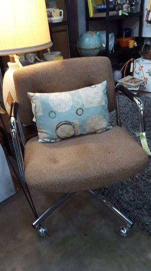 Vintage Steelcase Rolling Swivel Adjustable Chair. Original price $125, Sale price $75. Located at Long Beach Antique Mall 2, 1851 Freeman Ave, Sign for Sale in Long Beach, CA
