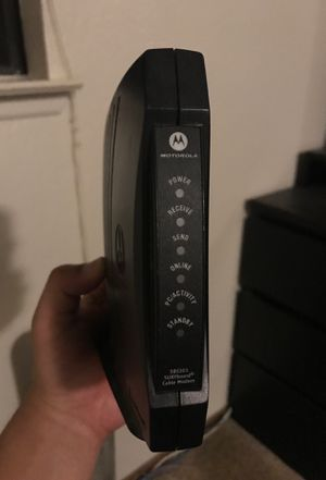 Cable modem for Sale in Marina, CA