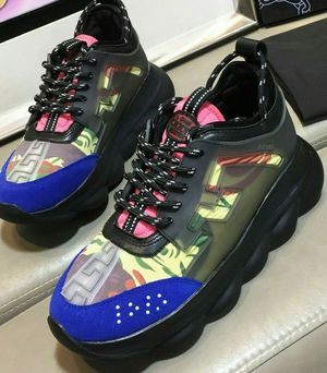 VERSACE CHAIN REACTION SNEAKERS for Sale in Hyattsville, MD