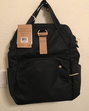 NWT Pacsafe Citysafe CX backpack for Sale in Las Vegas, NV