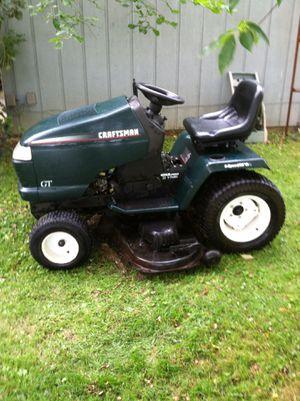 "Craftsman garden tractor, 22hp. Kohler engine, 50"" cut for Sale in Mansfield, OH"