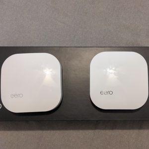 2 Eero 1st Gen Mesh WiFi Router for Sale in Los Angeles, CA