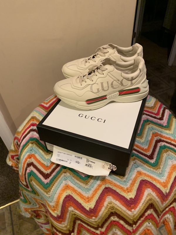 Gucci Rhyton Sneakers authentic from Neimans