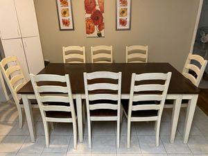Ashley Home Store 12 piece Dining Set and Breakfast Nook for Sale in Vallejo, CA