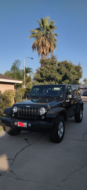 2018 Jeep Wrangler Jk Unlimited for Sale in Riverside, CA