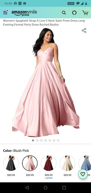 Pink ball gown / prom dress. Size 10 for Sale in Deerfield Beach, FL