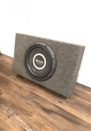 """12"""" Pioneer Premier ib Flat Shallow Mount Subwoofer for Sale in Dallas, TX"""