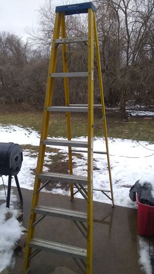 24 ft and 8ft werner ladders for Sale in Lee's Summit, MO