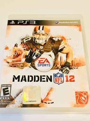 Madden 12 (PS3) for Sale in Raleigh, NC