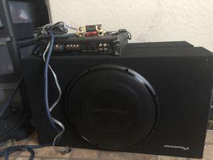 Subwoofers pioner kennwood amp for Sale in Phoenix, AZ