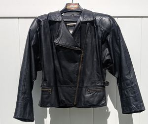 Butter soft leather jacket with fringe for Sale in North Providence, RI