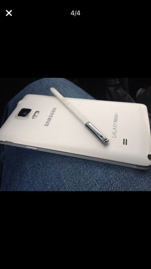 Samsung Galaxy Note 4 Factory Unlocked for any Carrier for Sale in Cleveland, OH
