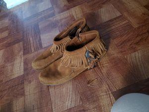Minnetonka fringe shoes for Sale in Philadelphia, PA