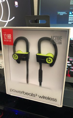 Unopened Wireless PowerBeats 3 for Sale in Denver, CO
