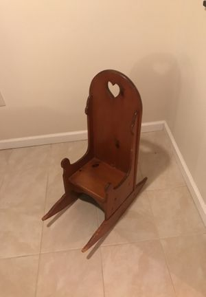 kids rocking chair for Sale in St. Louis, MO