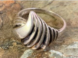 Sterling Abstract Swirl Ring for Sale in Roswell, GA