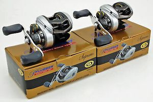 2 Pflueger Supreme SUP54LPX 5:4.1 Right Hand baitcaster fishing reel baitcast 9-ball bearings for Sale in Litchfield Park, AZ