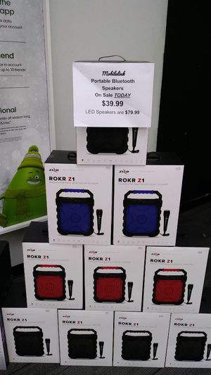 Rokr Z1 Portable Speakers for Sale in undefined