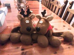 Stuffed animals,Raindeers, plush toys,toy for Sale in Los Angeles, CA