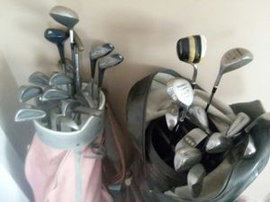 His and hers golf clubs for Sale in Richmond, VA
