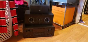 Selling speakers and receiver, sub woofer for Sale in Pawtucket, RI