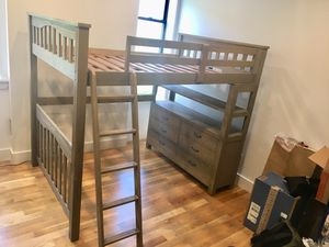 Full size Loft Bed, excellent condition! for Sale in Queens, NY