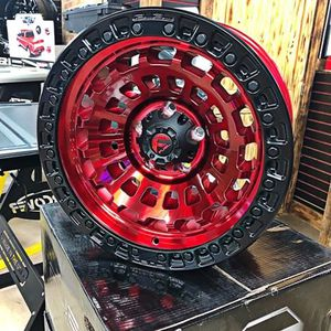 "$800 (NEW) fuel zephyr red 17x9"" for Sale in Whittier, CA"