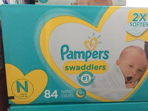 Newborn pampers Swaddlers for Sale in Philadelphia, PA