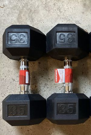 Dumbbells 35lb pair for Sale in Pooler, GA