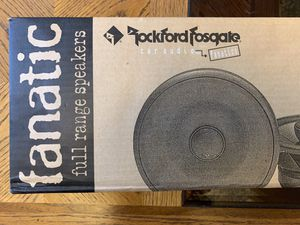 "Rockford Fosgate 5.25"" Speakers (set of 2pcs) (New) for Sale in Stockton, CA"