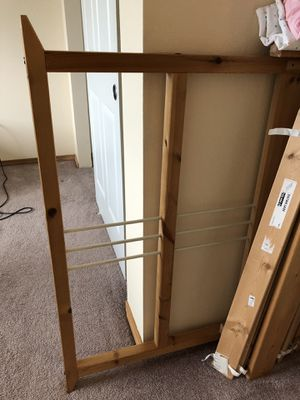 IKEA twin wood bed frame for Sale in Arlington, WA