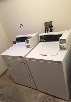 Coin Commercial Washer and Dryer for Sale in Chicago, IL
