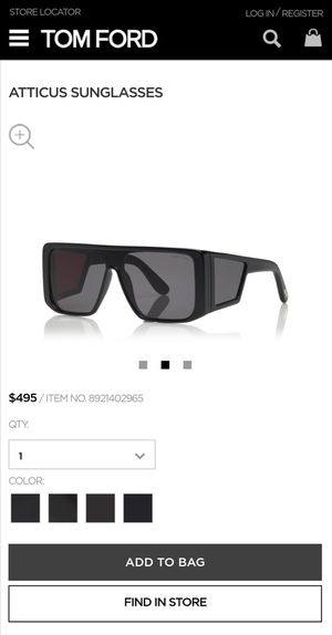 Tom Ford Atticus Oversize Sunglasses for Sale in Troy, MI
