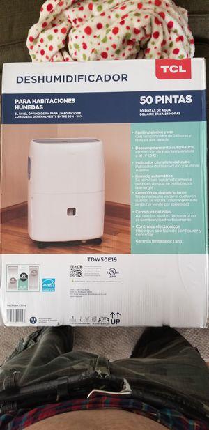 50 Pint Dehumidifier for Sale in Stockton, CA