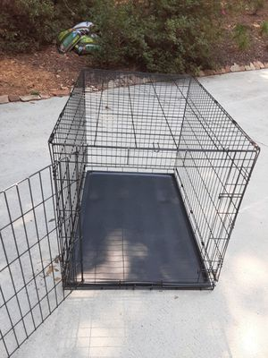 Large dog crate for Sale in Snellville, GA