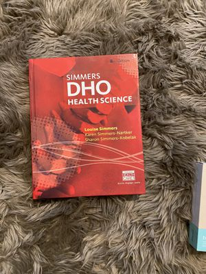 DHO health science book 8th edition for Sale in Ripon, CA