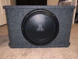 """JL Audio 12"""" Subwoofer for Sale in Tyler, TX"""