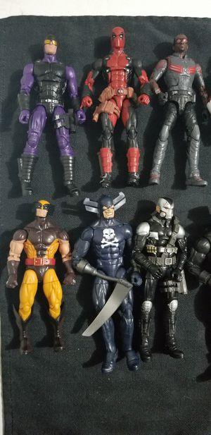 Marvel legends DC lot for Sale in Santee, CA