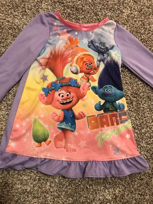 Trolls Night Gown 2T for Sale in Covington, WA