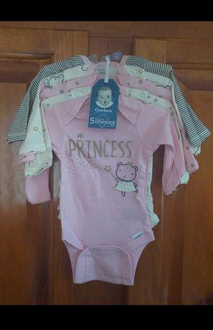 Baby Girl Newborn Onesies 5 Pack for Sale in Abilene, TX