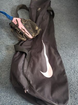Bag and mitt for Sale in Colfax, WI