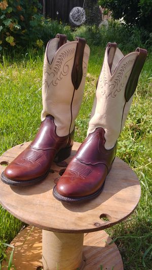 7b01949f7dd Olathe Leather Boots 6.5D, Mens for Sale