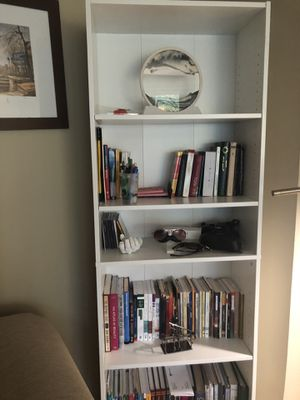 White Bookcase for Sale in St. Louis Park, MN