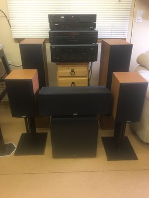 Complete Surround Sound System, Wired for Sale in Traverse City, MI