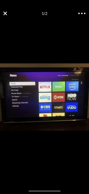 "46"" Panasonic Viera Plasma TV for Sale in OLD RVR-WNFRE, TX"