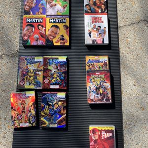 5 Sets Of DVD Packages - X-men, Flash, Marvel, House Of Payne, Martin for Sale in Chesapeake, VA